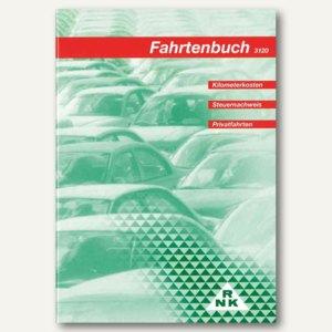 RNK Fahrtenbuch für PKW, DIN A5, 64 Seiten, 3120