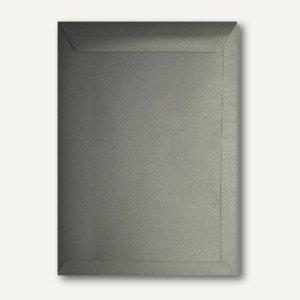 Farbiger Briefumschlag Metallic, 220x312 mm, nasskl., 120 g/m², silber, 500St.