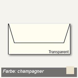 Transparente Briefumschläge DIN lang
