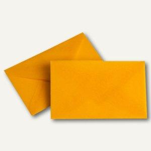 Transparenter Briefumschlag, 62x98mm, Pergamin, 100g/m², intensivorange, 100St.