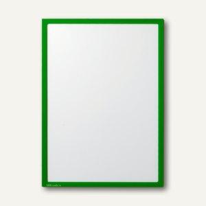 Ultradex Infotasche DIN A5, hoch/quer, magnethaftend, gelbgrün, 10 Stück, 888840