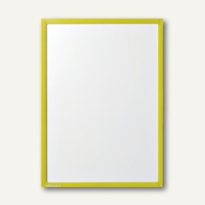 Ultradex Infotasche DIN A6, hoch/quer, magnethaftend, gelb, 10 Stück, 893702