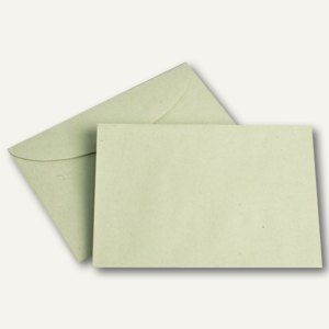 Farbiger Briefumschlag, DIN C6, 75 g/m², grün, 1.000St.