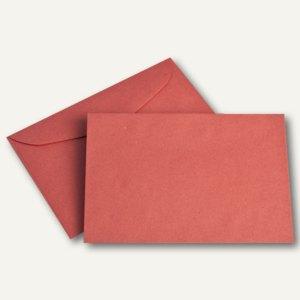 Farbiger Briefumschlag, DIN C6, 75 g/m², rot, 1.000St.