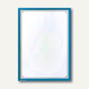 Infotasche mit Ausschnitt, DIN A3, hoch, selbstklebend, blau, 5 Stück, 880207