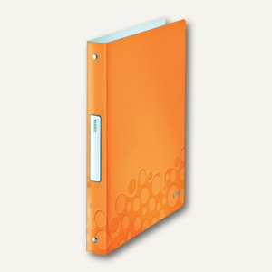 Ringbuch WOW, DIN A4, PP, 32mm Rücken, 4 Rund-Ring, orange-metallic, 4258-00-44