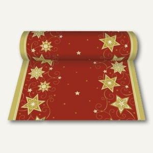 Tischläufer Just Stars rot