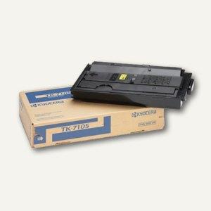 Kyocera Toner für Laserdrucker TaskAlfa 3010, ca. 20.000 Seiten, schwarz, TK7105