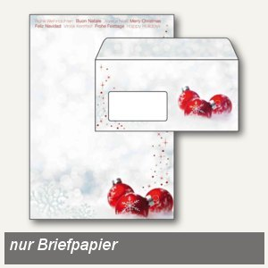 Artikelbild: Weihnachtspapier Winter Time