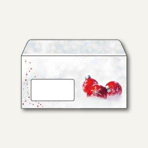 """Sigel Weihnachtsumschlag """"Winter Time"""", DL mit Fenster, 90 g/m², 25 St., DU039"""