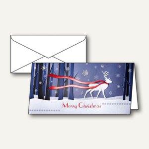 Weihnachtskarten Winter´s Eve inkl. Umschläge A6