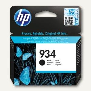 HP Tintenpatrone 934, 10 ml, ca. 400 Seiten, schwarz, C2P19AE