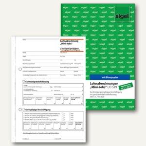 Formularbuch Lohnabrechnung für Mini-Jobs - aktuelle Version