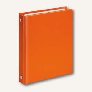 Ringbücher VELOCOLOR A6, Karton 4 D-Ringe, Ø 13 mm, orange, 6 Stück, 1164330