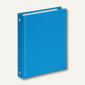 Ringbücher VELOCOLOR A6, Karton 4 D-Ringe, Ø 13 mm, hellblau, 6 Stück, 1164351
