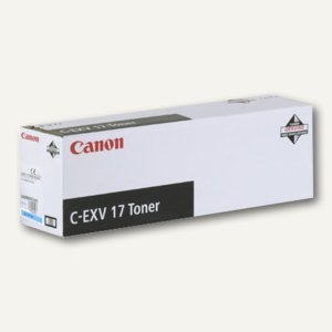 Canon Toner, C-EXV17, ca. 30.000 Seiten, cyan, 0261B002