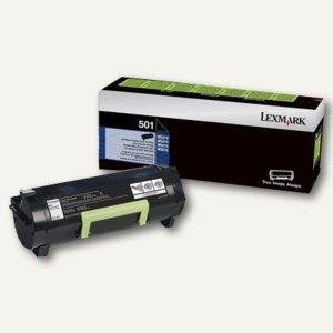 Lexmark Rückgabe-Toner, ca. 10.000 Seiten, schwarz, 50F2X00