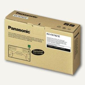 Panasonic Toner-Kit, ca. 3.000 Seiten, schwarz, KXFAT430X