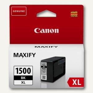 Canon Tintenpatrone, PGI-1500XLBK, schwarz, 34 ml, 9182B001