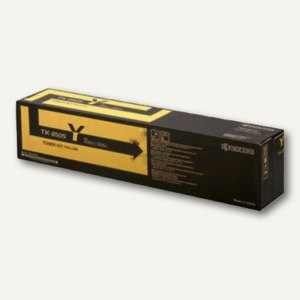 Kyocera Toner TK8505Y, ca. 20.000 Seiten, gelb, 1T02LCANL0