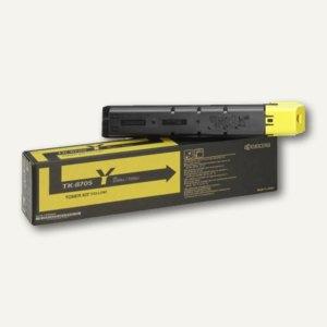 Kyocera Toner TK8705Y, ca. 30.000 Seiten, gelb, 1T02K9ANL0