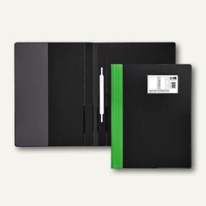 Veloflex Schnellhefter VELOCOLOR® DIN A4, Hart-PVC, hellgrün, 12 Stück, 4743341