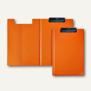 Klemmbrettmappe VELOCOLOR®, A4, PVC, Metallklemme, orange, 6 Stück, 4804330