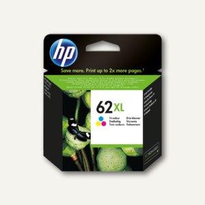 HP Tintenpatrone Nr. 62XL, color, C2P07AE