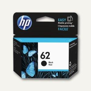 HP Tintenpatrone Nr. 62, schwarz, C2P04AE