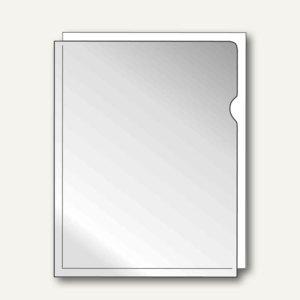 Falken Sichthülle, DIN A4, PP, genarbt, 0.08 mm, 100 Stück, 11297348