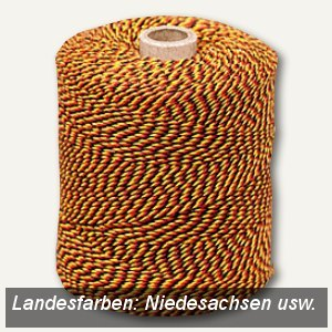 Urkunden-Heftgarn - Niedersachsen usw.
