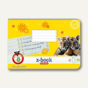 Schreiblernheft x.book DIN A5 quer