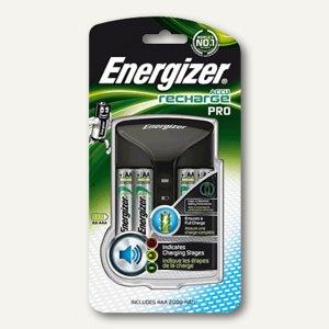 Energizer Ladegerät, bis zu 4 AAA o. AA-Akkus, Überladungsschutz, schwarz,639837