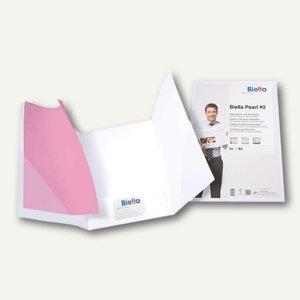 """Biella Präsentationsmappe """"Pearl 3"""" DIN A4, Karton 240 g/m², weiß, 0186421.01"""