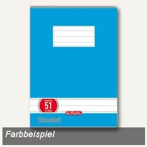 Herlitz Oktavheft x.book DIN A6, liniert, 70 g/m², 60 Blatt, 285619