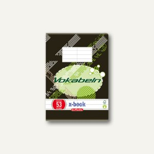 Vokabelheft x.book DIN A6