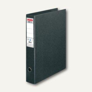 Herlitz Hartpappe-Ordner maX.file DIN A3 hoch, 75 mm, schwarz, 10842383
