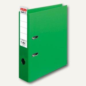 Herlitz Ordner maX.file protect plus, Kantenschutz, 80 mm, hellgrün, 10834430