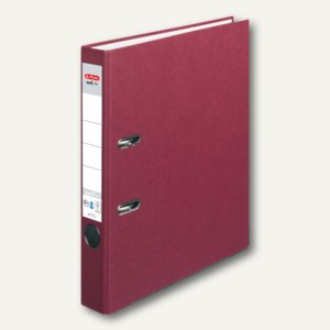 Herlitz Ordner maX.file nature plus DIN A4, 50 mm, bordeaux, 10841724