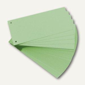 Herlitz Trennstreifen 105 x 240 mm, grün, 100 Stück, 10843506
