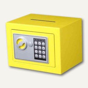 Phoenix Tresor COMPACT, Elektronik-Schloss, 4 L, Einwurfschlitz, gelb, SS0721EYD