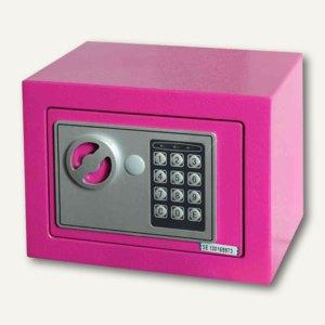 Phoenix Tresor COMPACT, Elektronik-Schloss, 4 L, pink, SS0721EP