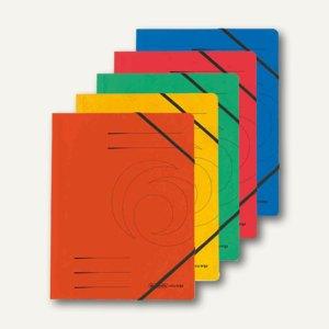 "Herlitz Eckspanner ""easyorga"" DIN A4, farbig sortiert, 5 Stück, 10902872"