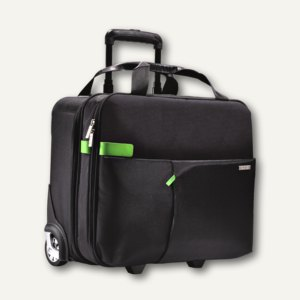 LEITZ Reisetrolley Smart Traveller, Laptop-Fach, schwarz, 6059-00-95