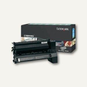 Lexmark Rückgabe-Lasertoner für C780, ca. 10.000 Seiten, schwarz, C780H1KG