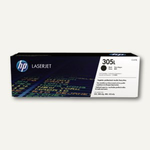 HP Tonerkartusche 305L, 1.400 Seiten, schwarz, CE410L
