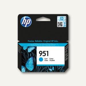 HP Tintenpatrone Nr.951, cyan, CN050AE