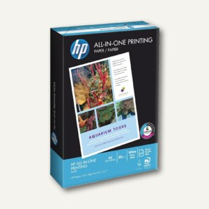 HP Multifunktionspapier All-In-One, DIN A4, 80 g/m², weiß, 500 Blatt, CHP710