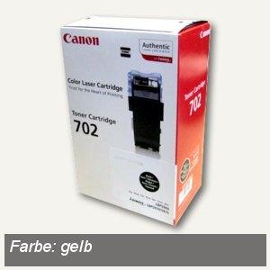 Canon Lasertoner 702, ca. 6.000 Seiten, gelb, 9642A004