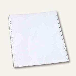 """Computerpapier endlos 11"""", 27.9 x 24 cm, blanko, 1-fach, 70 g/qm, 2000Bl., 92117"""